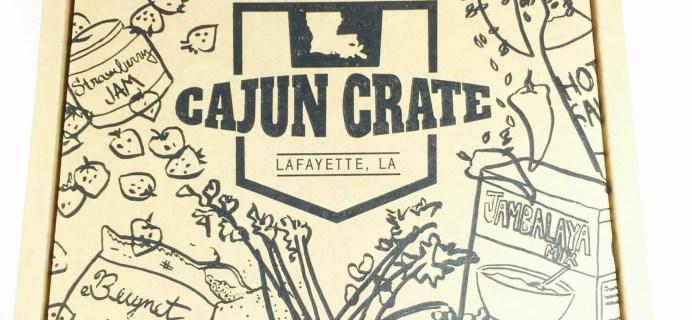 Cajun Crate August 2016 Subscription Box Review+ Coupon