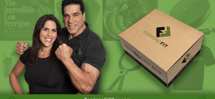 Ferrigno FIT Box: New Subscription Box Launch!