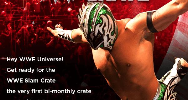Loot Crate WWE Slam Crate Announced + Coupons!