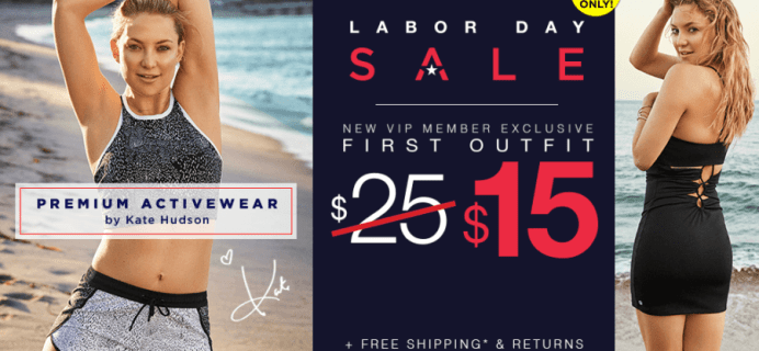 Fabletics Labor Day Sale: First Yoga & Workout Outfit Just $15!