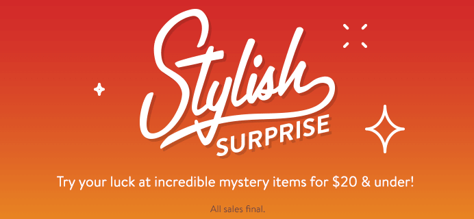 ModCloth Stylish Surprise Available NOW + Coupon!