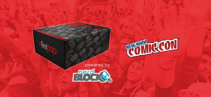 Nerd Block New York ComicCon Limited Edition Box Spoiler!