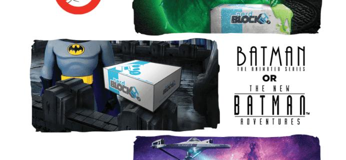 Nerd Block September 2016 Spoilers #3 & Coupon