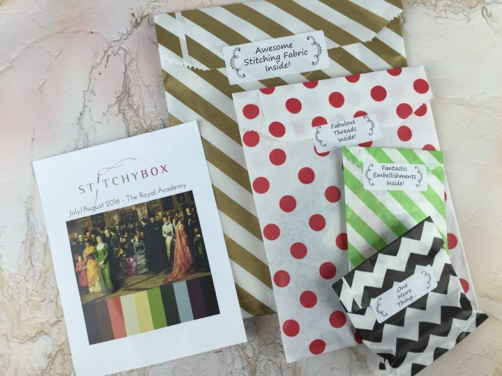 stitchy box august 2016 review