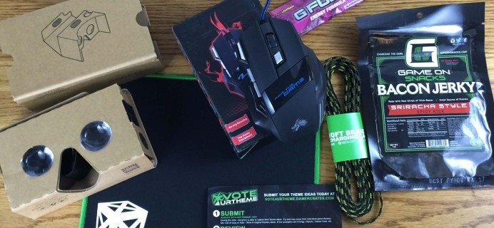 GamerCrates September 2016 Subscription Box Review + Coupon