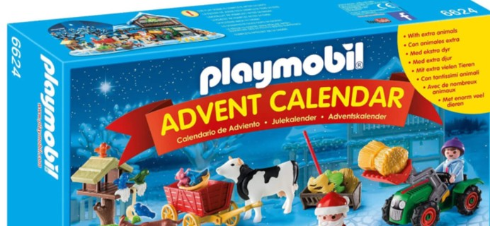 Playmobil 2016 Advent Calendars Available Now!