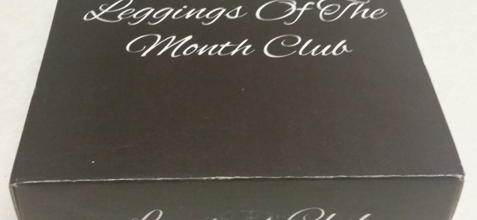 Leggings of the Month Club Subscription Box Review – September 2016