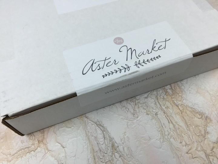 Aster Market September 2016 box