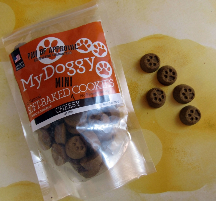 Paw iof Approval My Doggy Mini Soft-Baked Cheesy Cookies