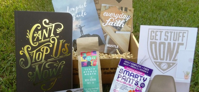 FaithBox August 2016 Subscription Box Review + Coupon