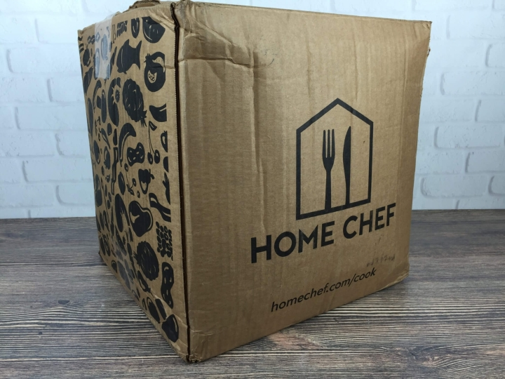 Home Chef August 2016 box