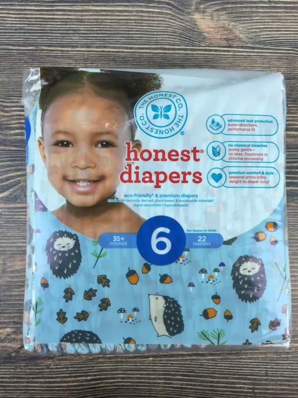 Honest Company September 2016 Diaper Bundle (2)