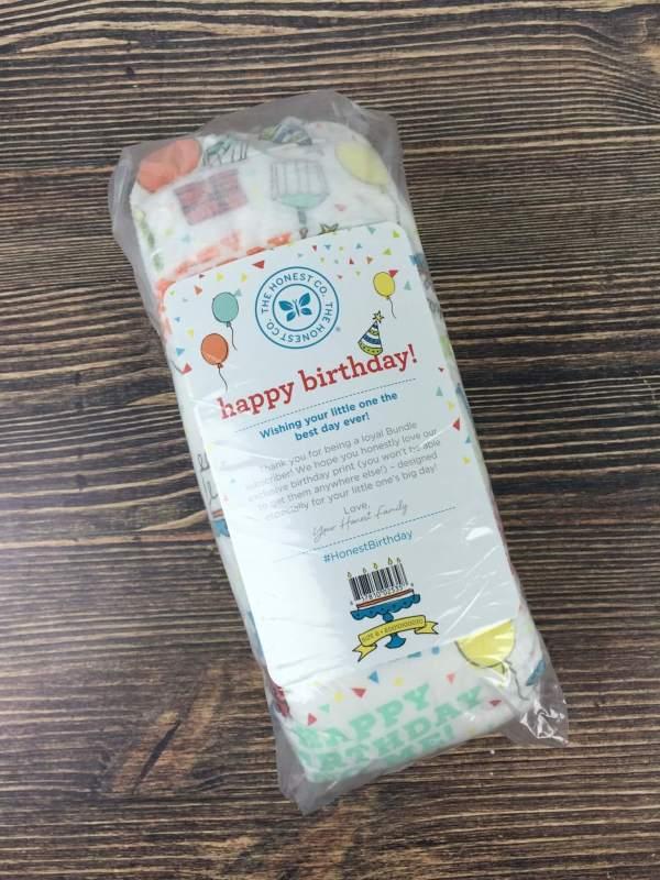 Honest Company September 2016 Diaper Bundle (8)