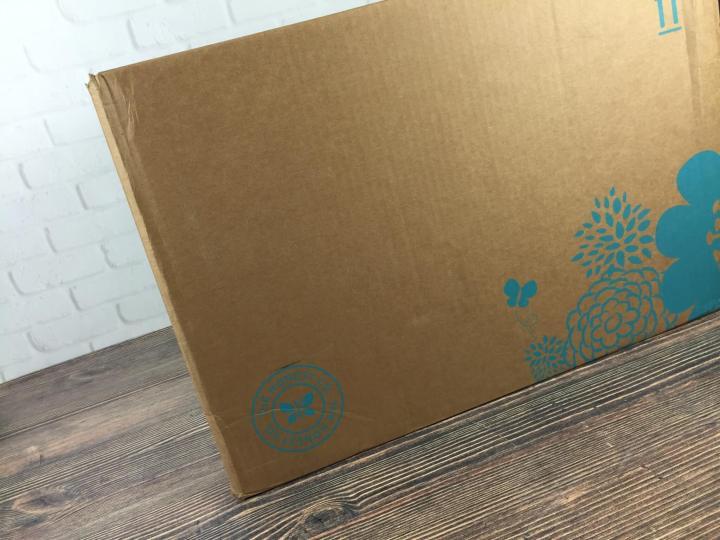 Honest Company September 2016 Diaper Bundle box