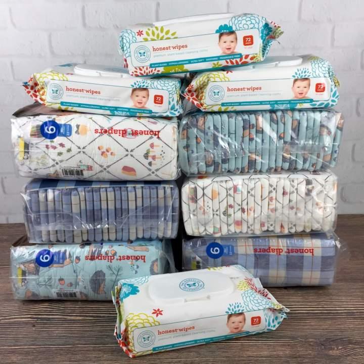 Honest Company September 2016 Diaper Bundle review
