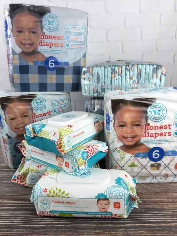Honest Company September 2016 Diaper Bundle unboxing