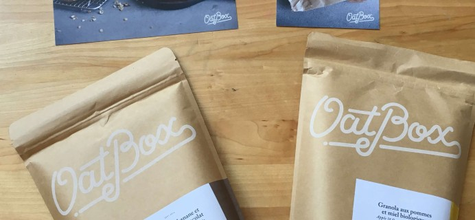 Oat Box September 2016 Subscription Box Review + Coupon