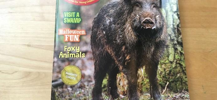 Ranger Rick, Jr. October 2016 Magazine Subscription Review