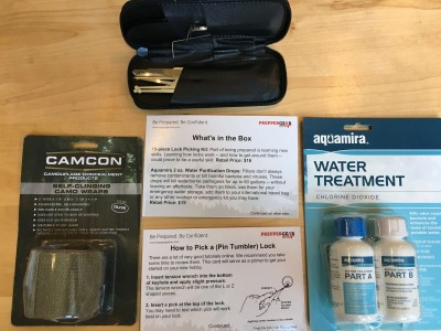 Prepper Gear Box September 2016 Subscription Box Review & Coupon