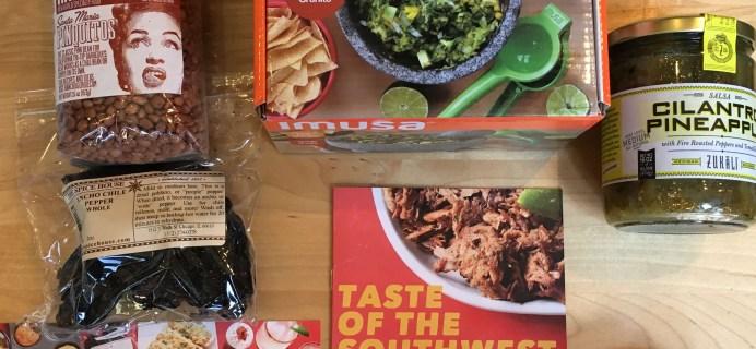 Hamptons Lane Subscription Box Review & Coupon: Taste of the Southwest Box