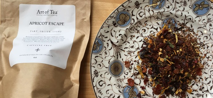 Art of Tea September 2016 Subscription Box Review + Coupon