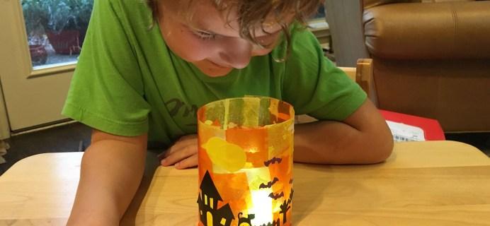 Kiwi Crate Halloween Luminaries Review