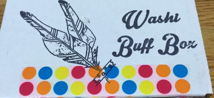 Washi Buff Box September 2016 Subscription Box Review