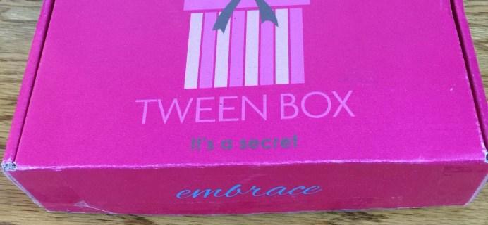 Tween Box September 2016 Subscription Box Review