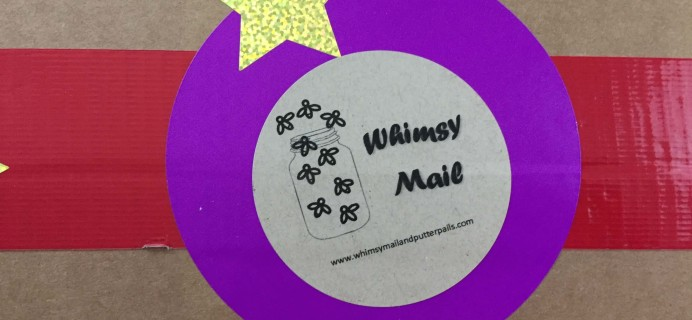 Whimsy Mail September 2016 Subscription Box Review & Coupon