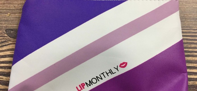 Lip Monthly September 2016 Subscription Box Review & Coupon