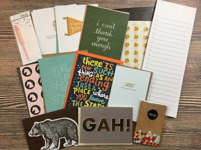 Studio Calico Stationery Kit September 2016 Subscription Box Review