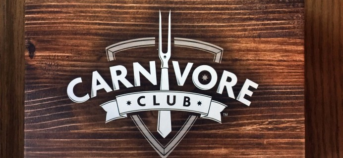Carnivore Club September 2016 Subscription Box Review & Coupon