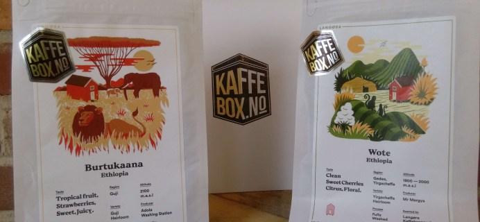 KaffeBox September 2016 Subscription Box Review
