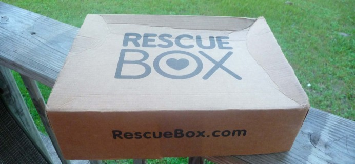 September 2016 Rescue Box Monthly Subscription Review