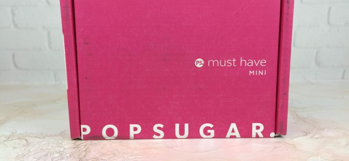 POPSUGAR Must Have Mini September 2016 Subscription Box Review