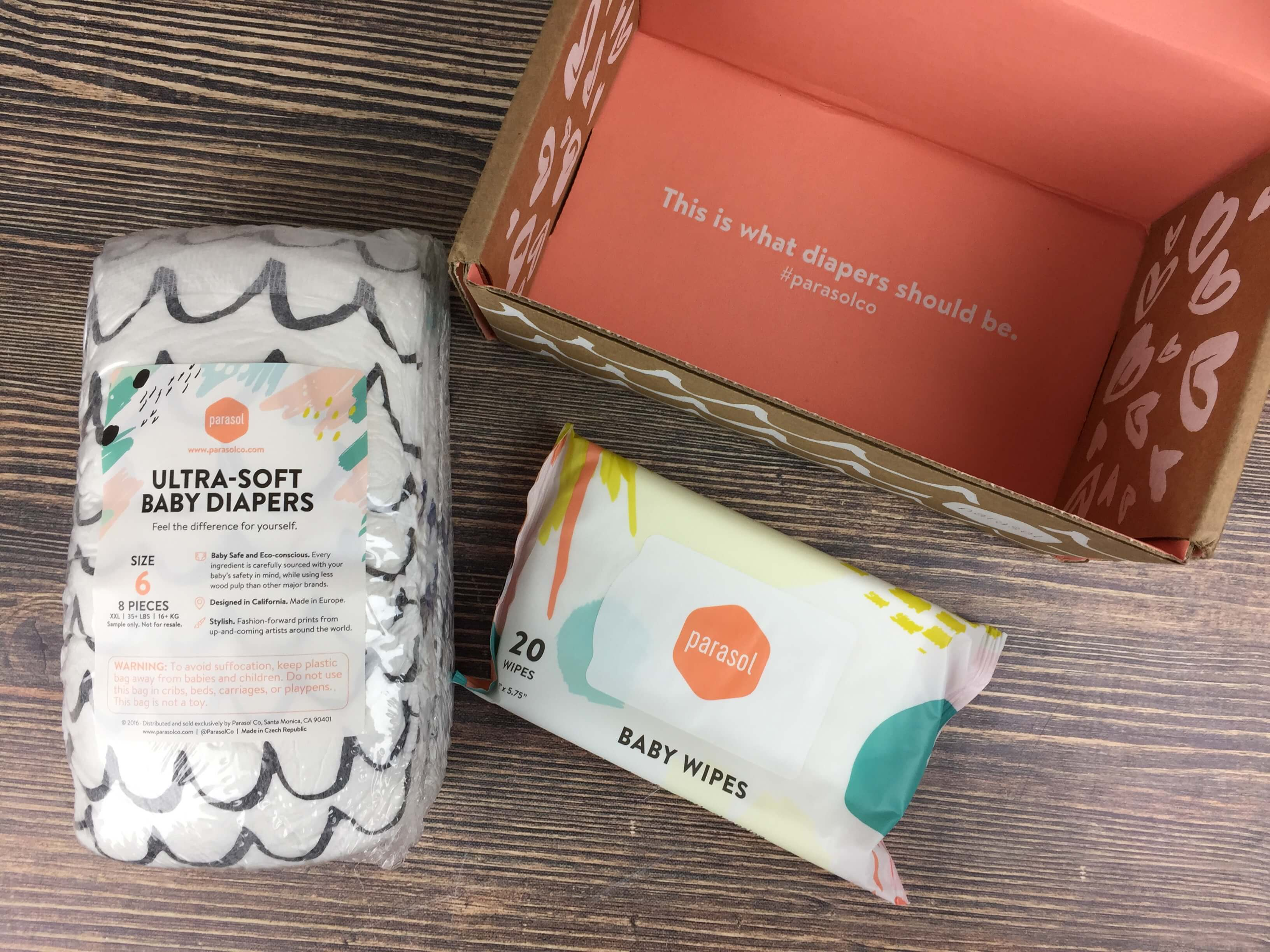Parasol Co. Diaper Subscription Review + Free Trial Offer | Hello ...