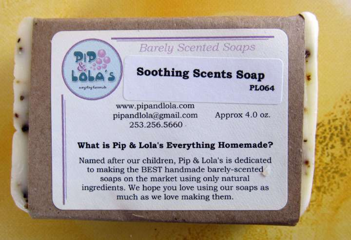 Soothing Scents Soap