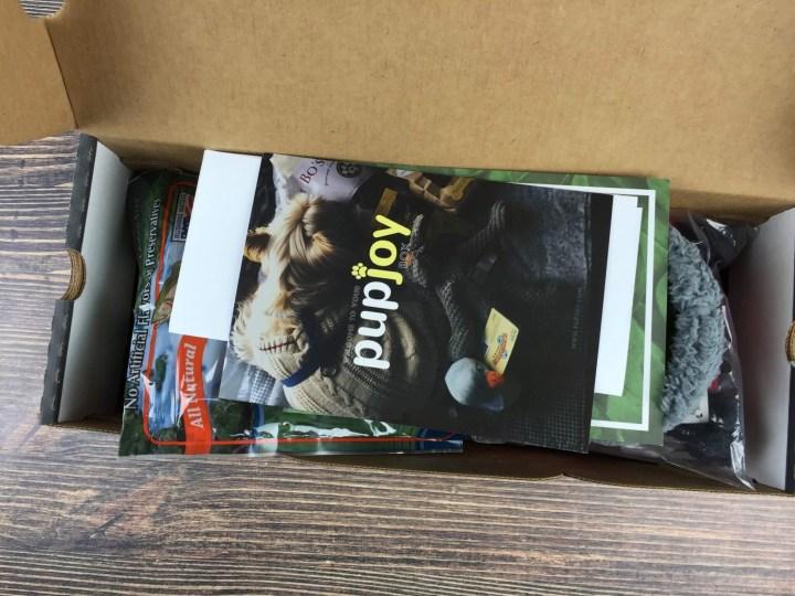 Pupjoy August 2016 unboxing