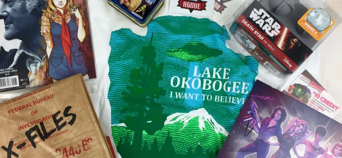 Sci-Fi Block September 2016 Subscription Box Review + Coupon