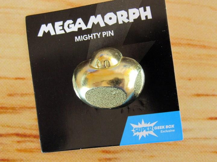 Super Geek Box Exclusive Megamorph Might Pin