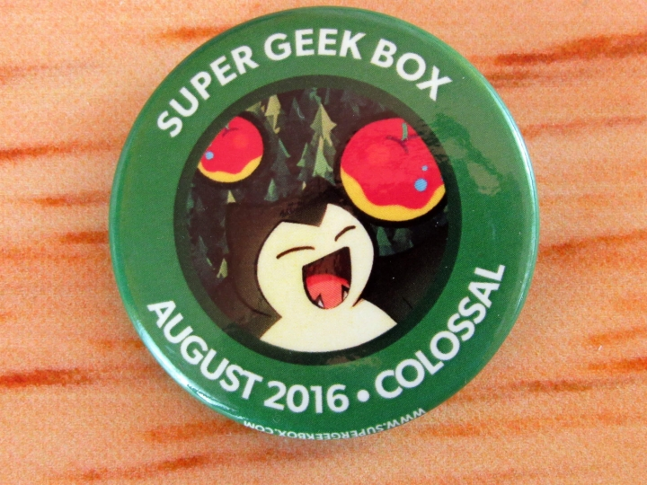 Super Geek Box Pin