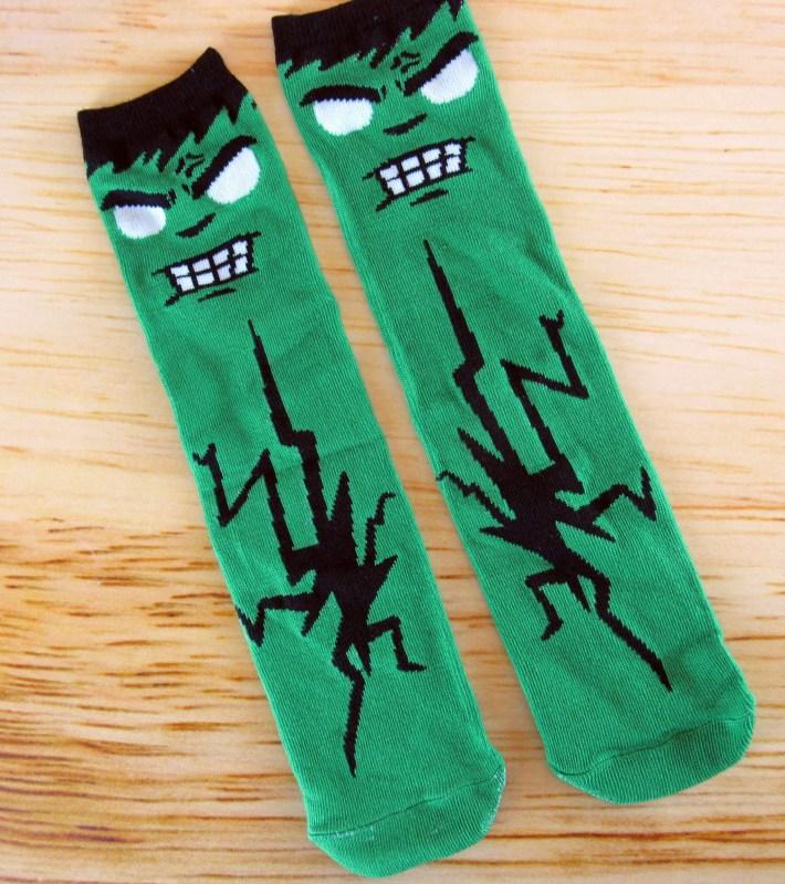 TITANFITS: Super Geek Box Exclusive Gamma Rage Socks