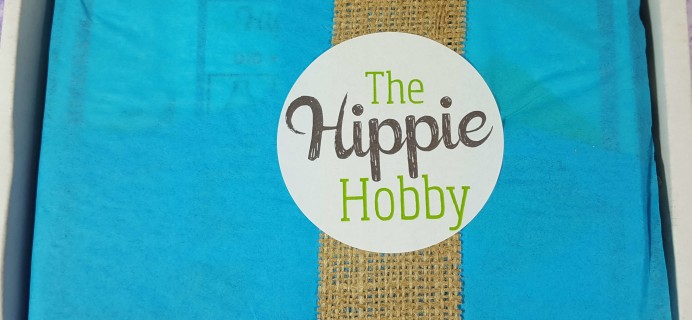 The Hippie Hobby September-October 2016 Subscription Box Review & Coupon