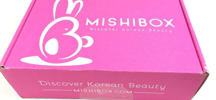MISHIBOX Korean Beauty Box Review – September 2016