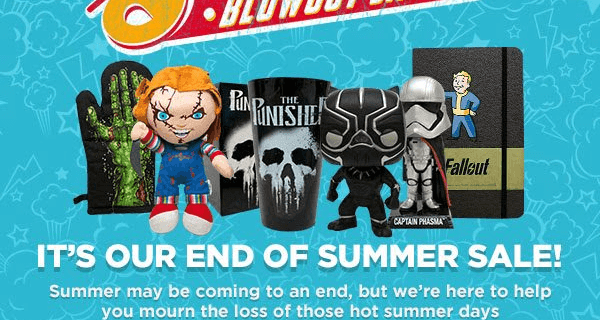 Nerd Block Summer Blowout Block Available Now!