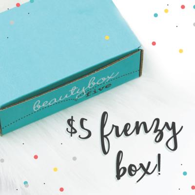 Beauty Box 5 – $5 Frenzy, $8 Makeup Madness, $10 OMG WHAT?! Box Sale!