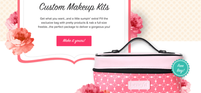 Benefit Cosmetics Build Your Own Custom Kits Now Available + Coupons!