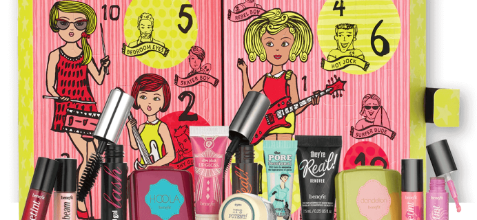 2016 Benefit Cosmetics Advent Calendar Available Now!