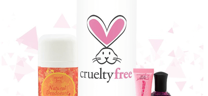 Limited Edition TopBox Limited Edition Cruelty-Free Box Available Now!
