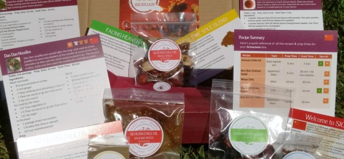 Spice Madam Subscription Box Review & Coupon – September 2016